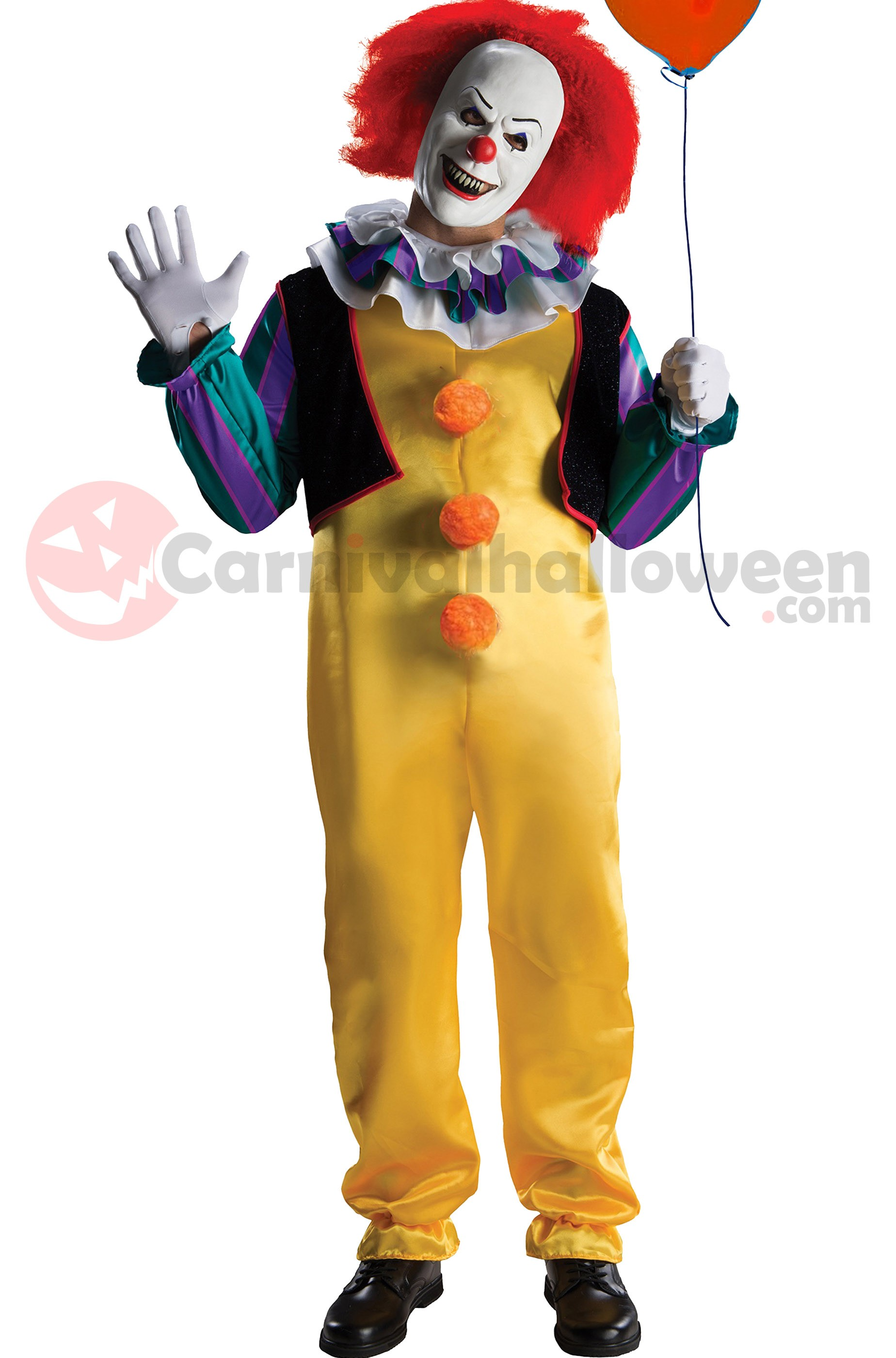 6eb1309001be Clown Horror Costume di IT Pennywise adulto - CarnivalHalloween.com
