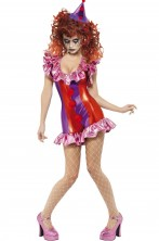 Costume donna sexy clown
