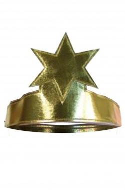 Corona da angelo color oro