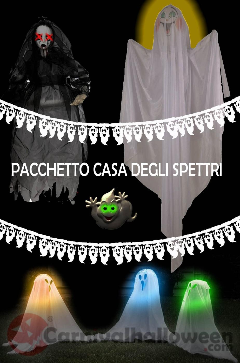 Pacchetto Decorazioni Halloween casa degli spettri