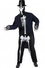 Costume adulto da scheletro Baron Samedi