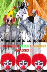 Allestimento decorazione Halloween Clown Horror Pacchetto Hell Circus completo