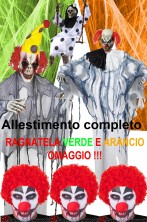 Clown Horror Pacchetto Hell Circus Circo Inferno