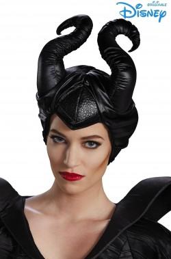 Corna Maleficent Malefica o malefizia a cappello circa 20 cm altezza in stoffa