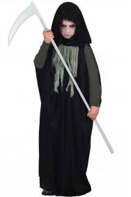 Costume Halloween Bambino Morte Grim Reaper