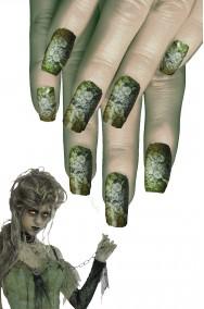 Unghie finte zombie
