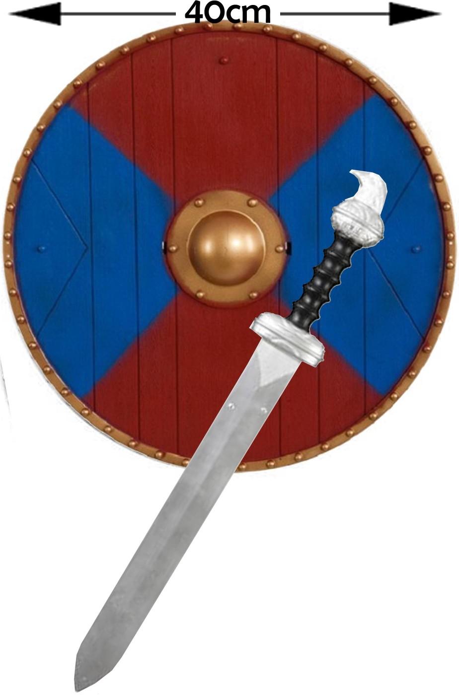 Set Vichingo :scudo e spada