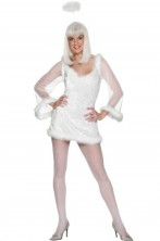 Costume donna sexy Angelo bianco