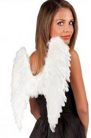 Ali bianche da angelo di piume medie 45x50cm