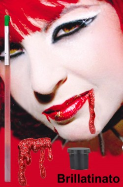 FX Sangue finto teatrale glitter