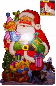 Calendario dell'Avvento del Natale in cartoncino