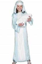 Costume carnevale Bambina Pastore Pastorella Maria