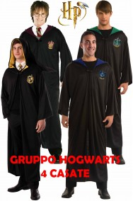 Harry Potter gruppo Hogwarts le quattro casate