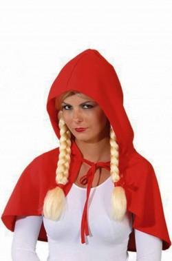 Mantella o Mantellina da cappuccetto rosso o babba natale