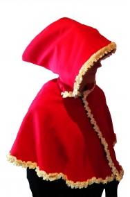 Mantella o Mantellina da cappuccetto rosso o babba natale sartoriale