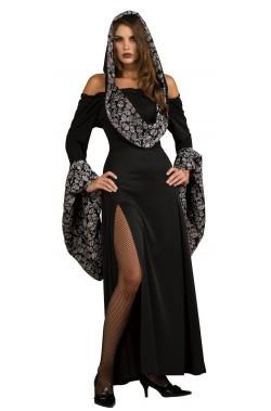 Costume donna tunica scheletro