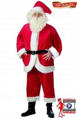 Costume Abito Babbo Natale Lusso