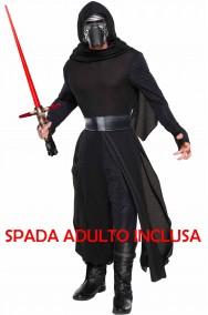 Costume Kylo Ren Star Wars gli ultimi Jedi con SPADA