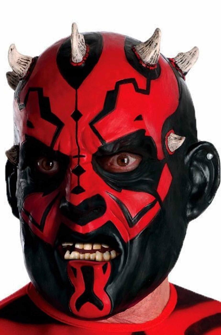 Maschera Darth Maul di Star Wars 3/4 in vinile