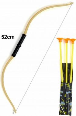 Arco con frecce giocattolo in plastica