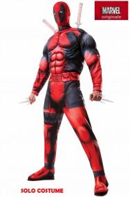 Costume Deadpool de luxe con muscoli