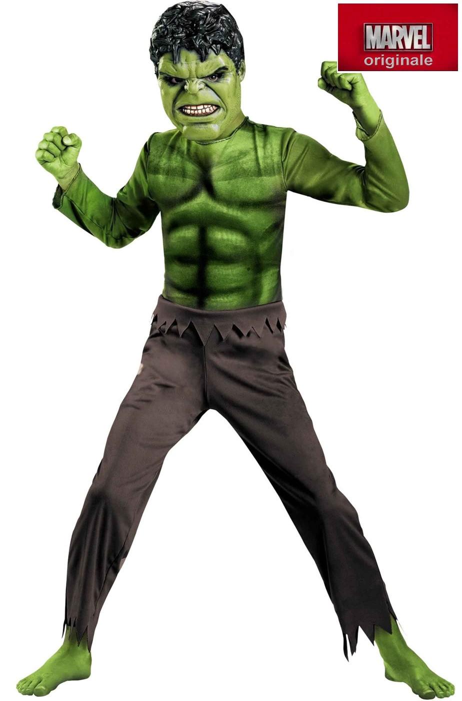 Costume Hulk da bambino 7-8 anni | eBay