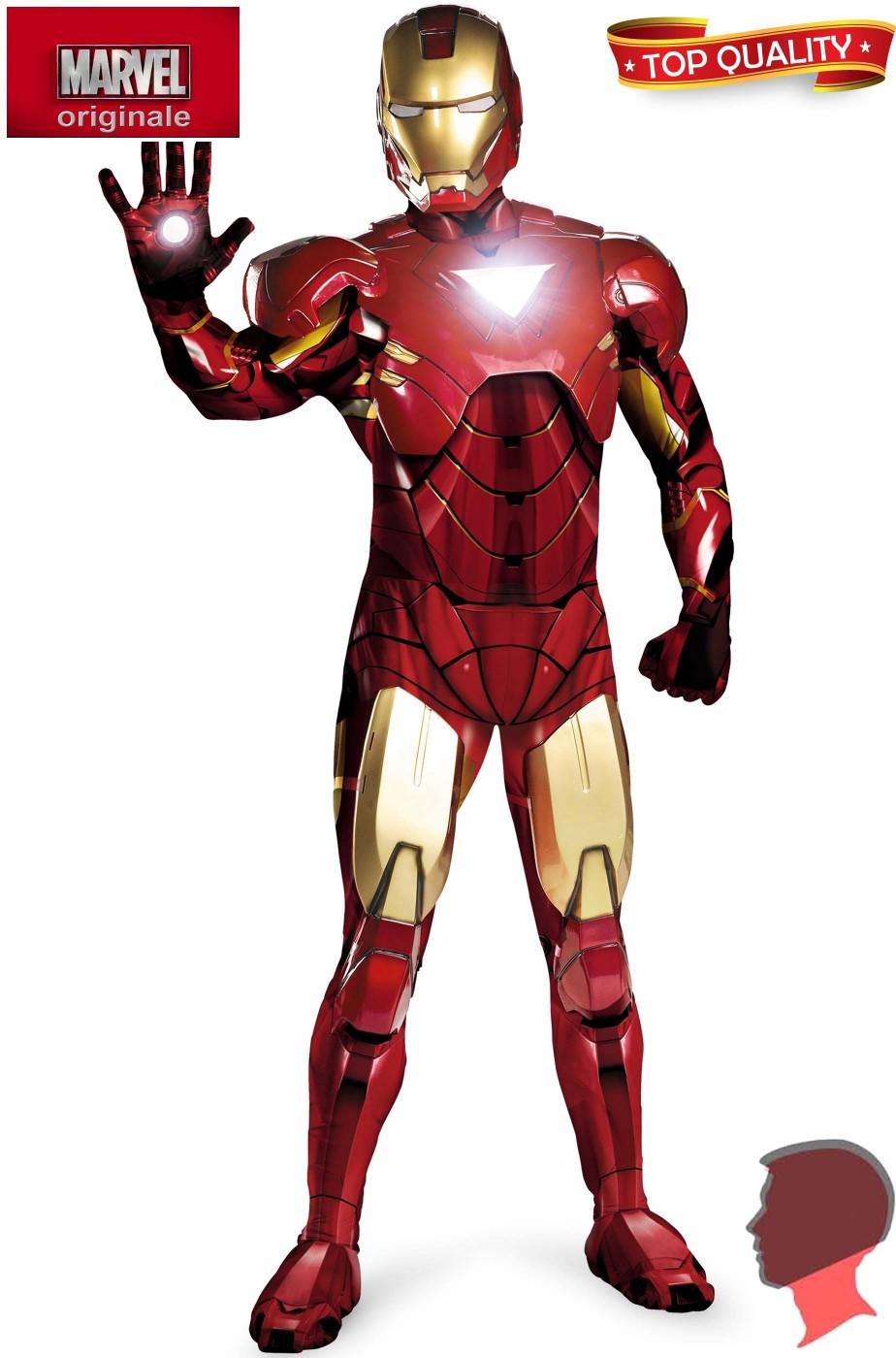 più economico grande sconto stile squisito Costume Ironman con parti di armatura e casco intero apribile