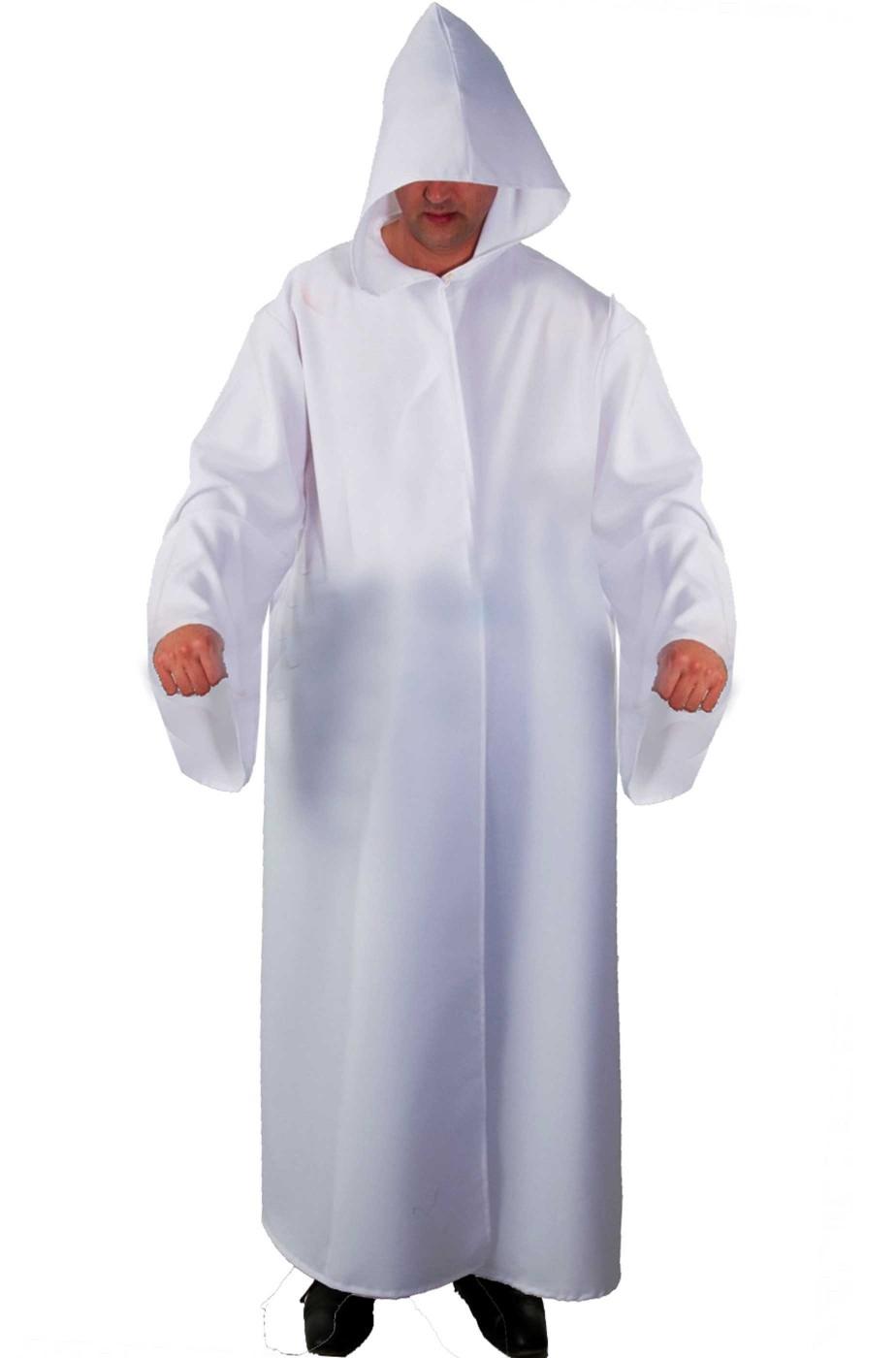 Tunica Maestro jedi bianca per Saruman o Gandalf