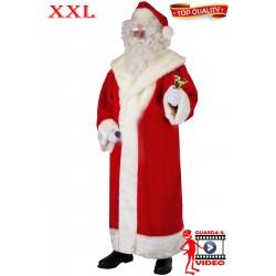 Qualita' Lusso Da Abito Alta Di Babbo Xl Cappotto A Costume Natale pOwZPxq
