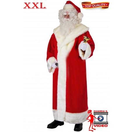 Vestito Abito Babbo Natale Extra Lusso