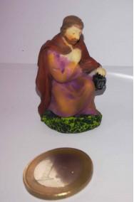 Figurina Presepe in plastica (cm 5,5) San Giuseppe