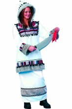 Costume donna eschimese