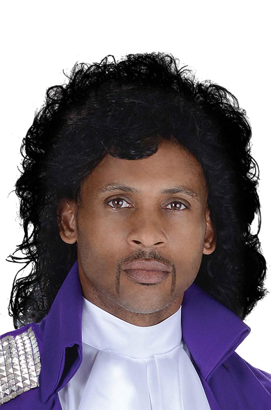 Parrucca uomo anni 80 tipo Prince