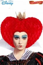 Parrucca rossa da regina di cuori maxi dimensione