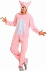 Costume da maiale o porcellino unisex