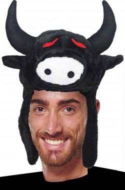 Cappello per costume da toro o bue