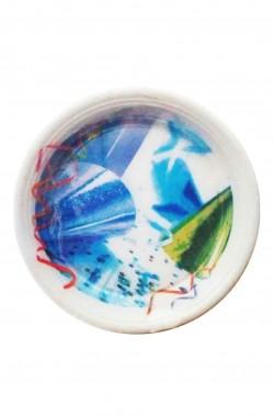 Carnival Party Cappellini e Stelle Filanti Piatti in plastica 8pzx22cm