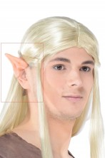 Protesi orecchie elfo per fare Legolas o Arween o Avatar5x5,6cm