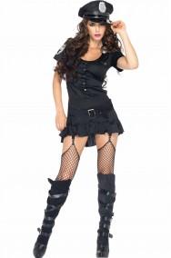 Costume Poliziotta Sergente Nera