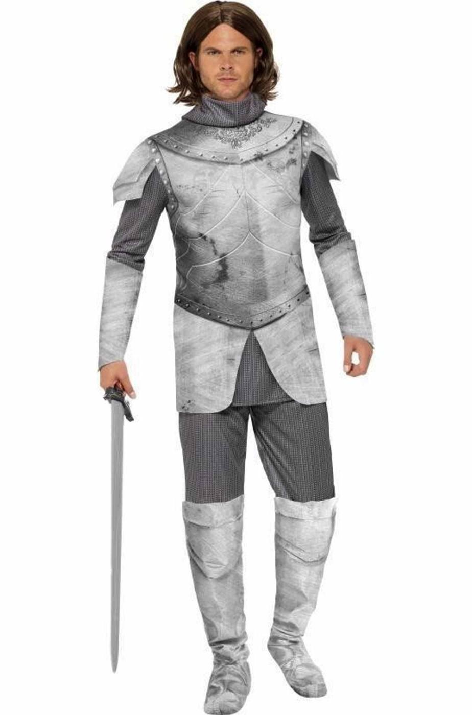 Costume uomo cavaliere medievale