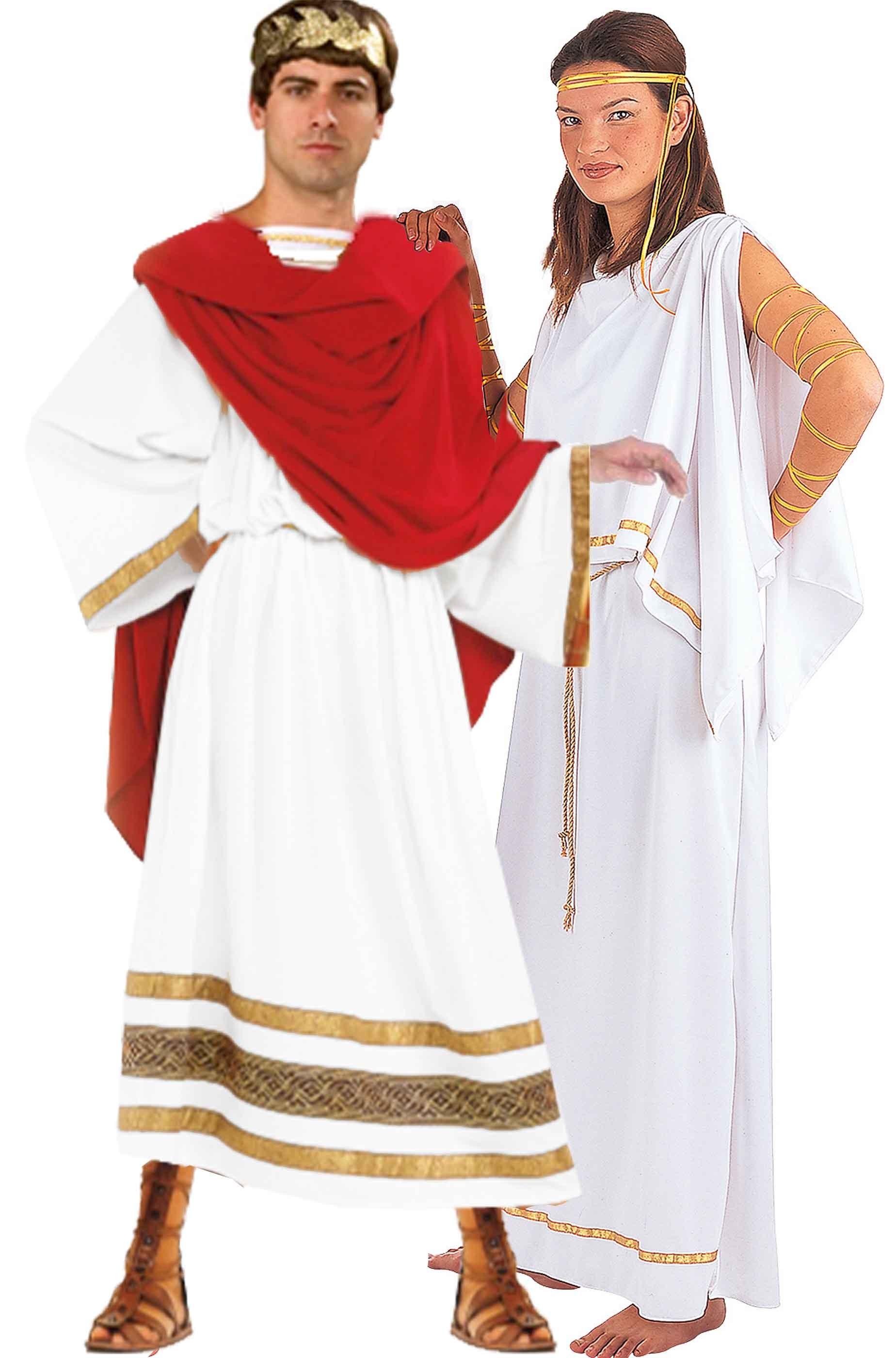 super popular c1e60 b22df Coppia di costumi antichi romani alta qualità