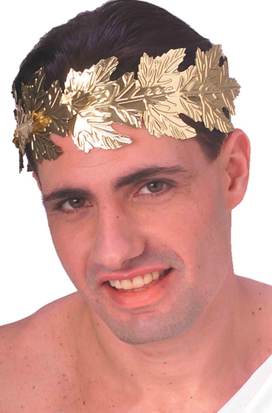 Corona d'alloro con foglie antico romano o greco
