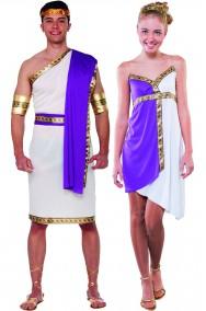 Coppia Antichi Romani o Greci taglia unica adulto