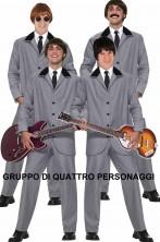 Gruppo di quattro costumi Beatles i baronetti di Liverpool