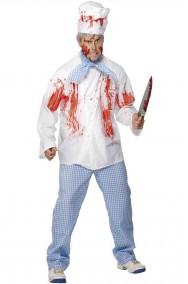 Costume uomo cuoco insanguinato