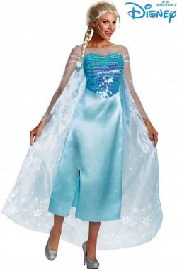 Costume Elsa di Frozen adulta originale Disney