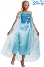 Costume Elsa di Frozen adulta originale Disney