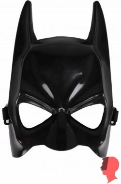 Maschera film pipistrello adulto in plastica