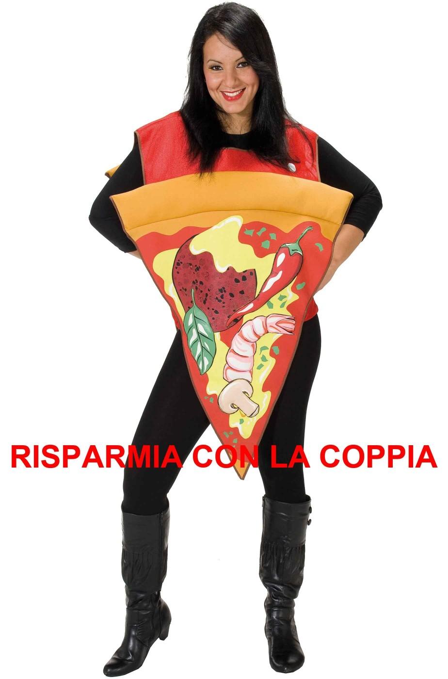 Costume da fetta di Pizza con peperoni