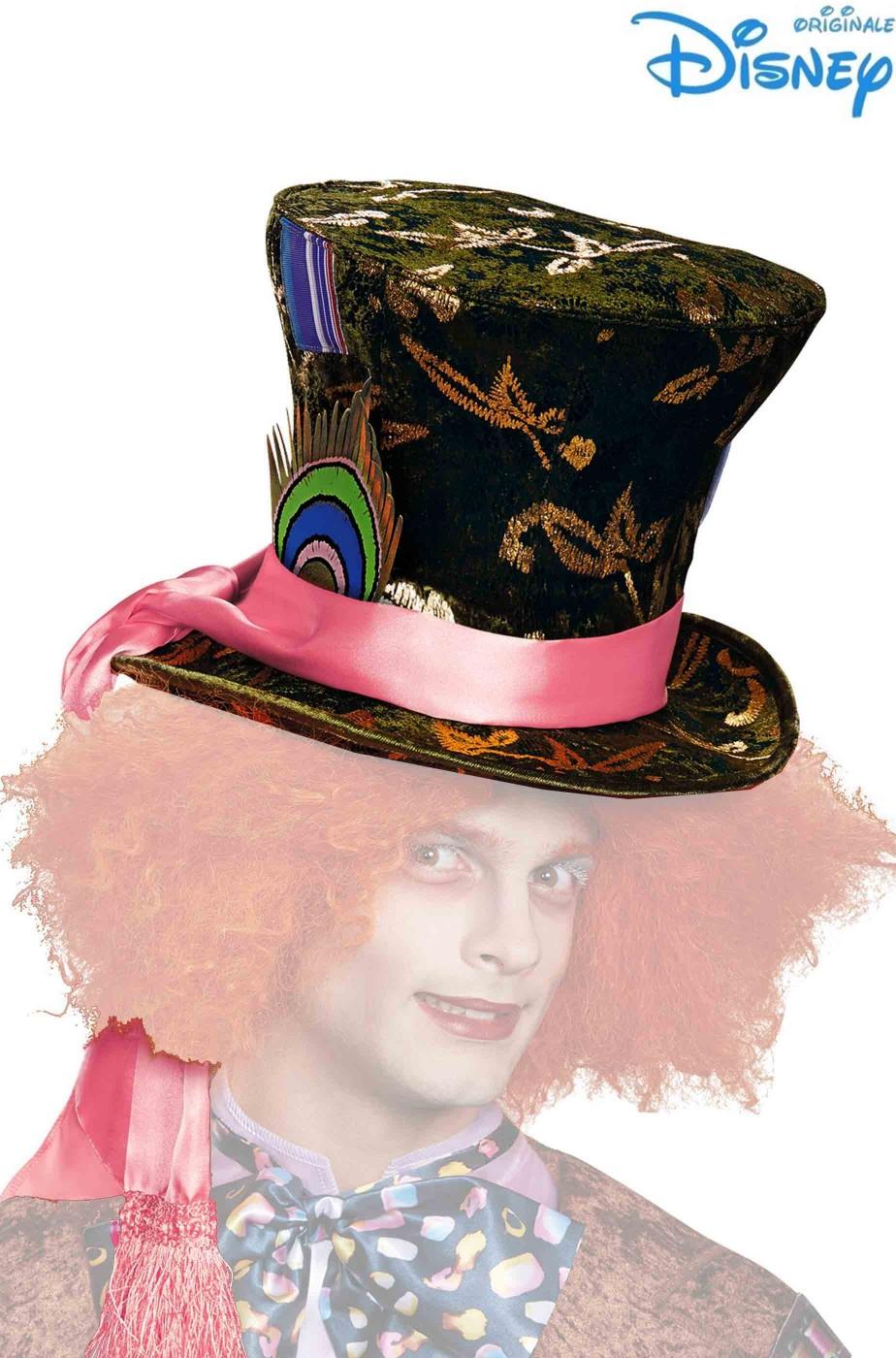 Cappello del Cappellaio Matto Alice in Wonderland De Luxe Disney 927adc977d0a